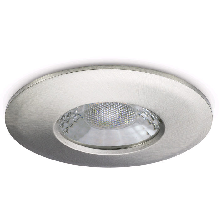 JCC Firerated LV Downlight Brushed Nickel
