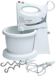Bosch Bowl Mixer with Detachable Hand Mixer 350W 5 Speed