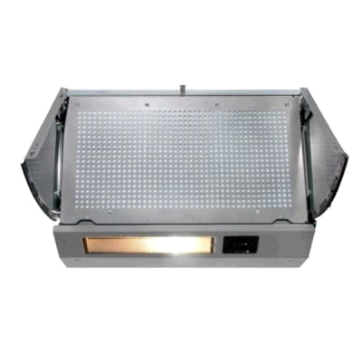 Montpellier 60cm Integrated Swing Out Cooker Hood 500w motor