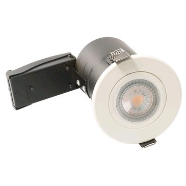 BG GU10 Tilt Downlight Fire Rated White
