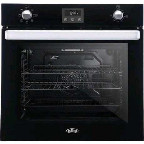 Belling Built-In Electric Single Oven in Black