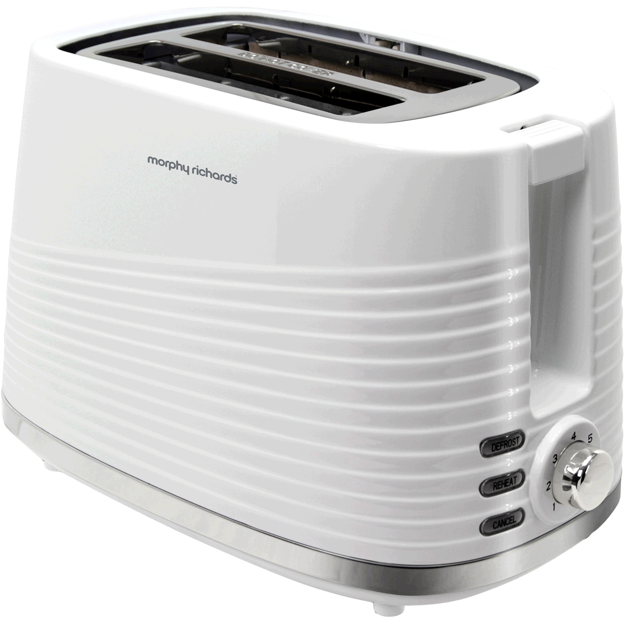 Morphy Richards 220029  2 Slice Dune Toaster White