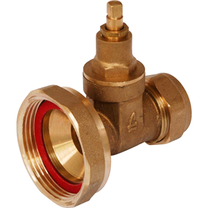 Copper Pump Valve 28mm. Gate Type