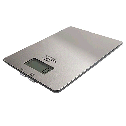 Wahl James Martin Digital Kitchen Scales c/w Liquid Weighing Function