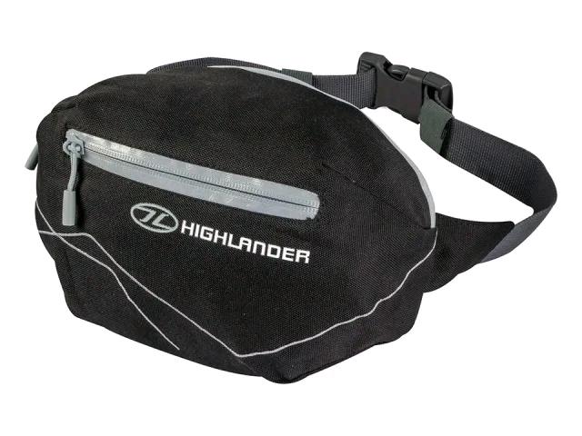 HIGHLANDER 2690700 Tor Waist Bag Black RUC244