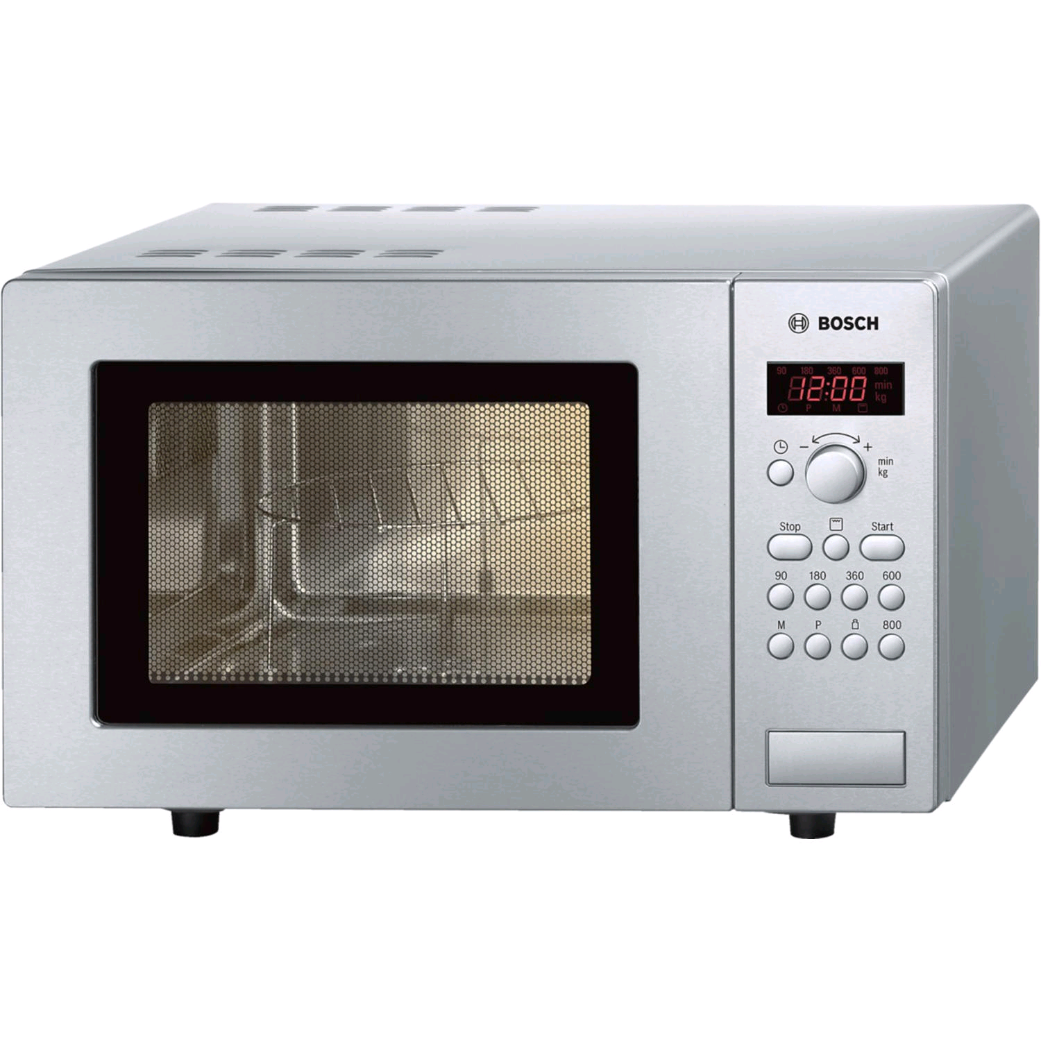 Bosch Microwave + Grill 17L 800w Stainless Steel