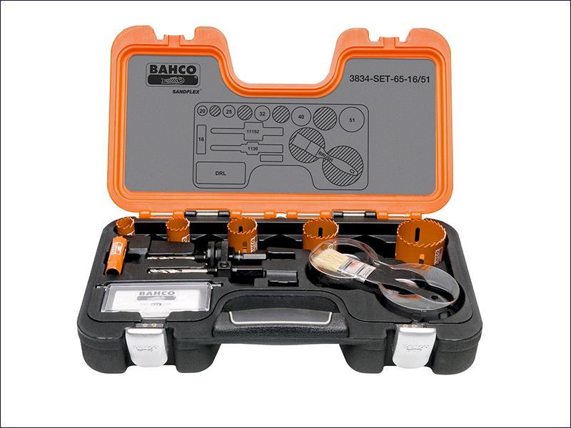 Bahco 3834 Professional Holesaw Set 16 - 51mm