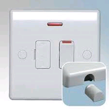 BG 13a Switched and Fused Spur with Neon Flex Outlet