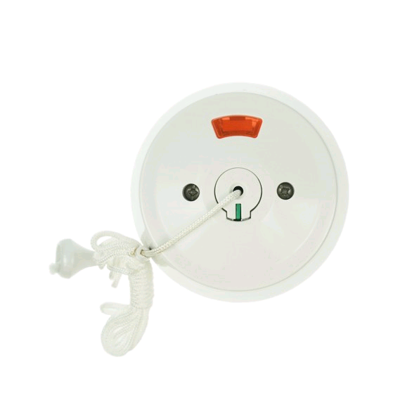 Click 50A DP Ceiling Pull Switch (Round)