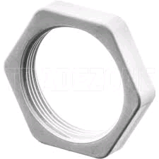 Falcon Conduit Lock Nut 20mm White