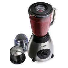 Tower 500w Glass Jar Blender with Grinder
