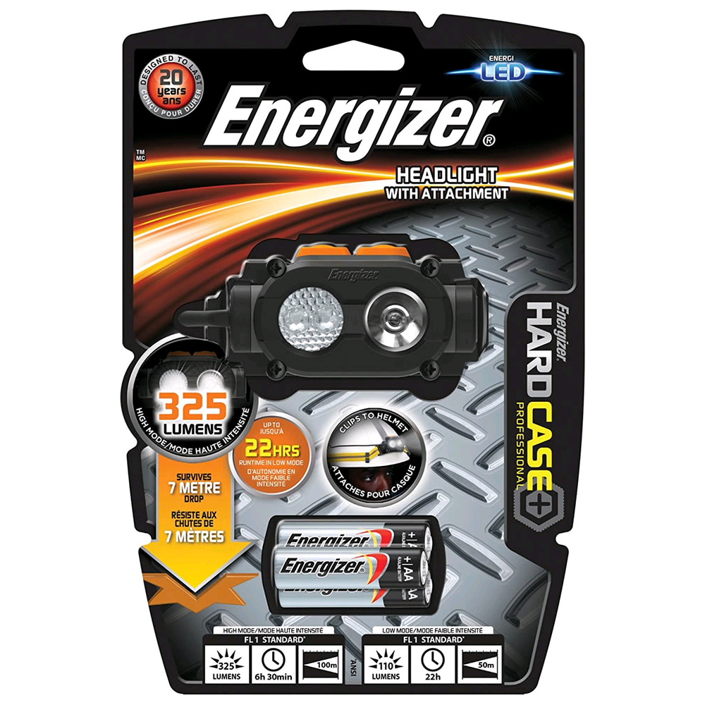 Energizer Hardcase LED Rugged Headlight with Attachment S14083