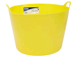 Draper 60L Yellow Flexi-Bucket
