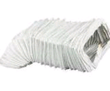 "Manrose Rectangular 4"" x 3mtr Flexible Ducting"