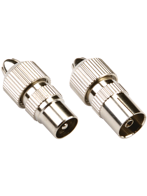 Bandridge Antenna Connectors 1 x Male 1 x Female