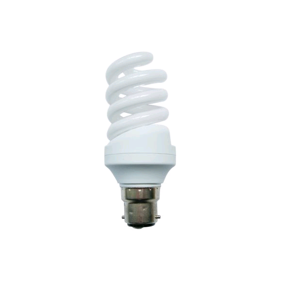 Lamp Low Energy Spiral 15w BC