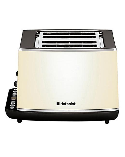 Hotpoint HDline Digital Toaster Cream