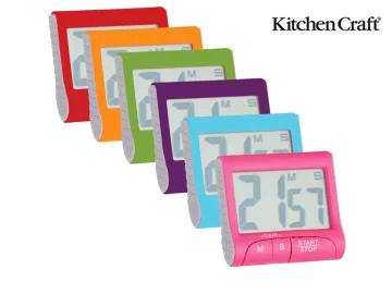 Kitchen Craft CWTIMDP12 Electronic Battery Timer