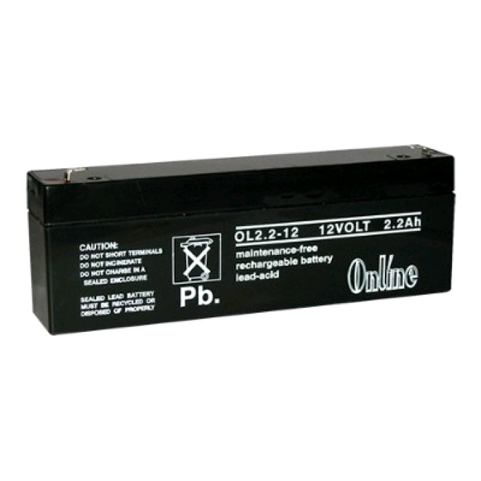 Battery Rechargeable 12V 2.2AH