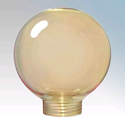 Bell Decorative Cover Mini Globe 60mm Gold
