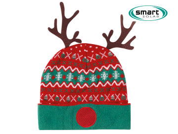 Smart Solar 2560000 LED Rudolph Hat + Batteries 6322381