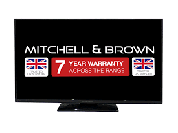 "Mitchell & Brown 50"" LED HD Ready TV, T2 Tuner SMART, Freeview Play WARRANTY MUST BE REGISTERED"