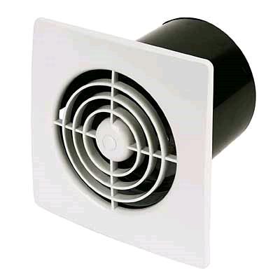 """Manrose Low Profile 4"""" 100mm Low Voltage Standard Fan"""