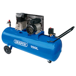 Draper Belt Drive 3HP 150Ltr Air Compressor