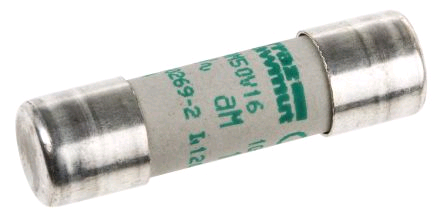 Ceramic Fuse 1a 10 x 38mm General Line 500V