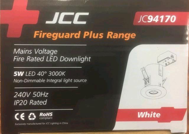 JCC Fireguard IP20 LED 5W Downlight White
