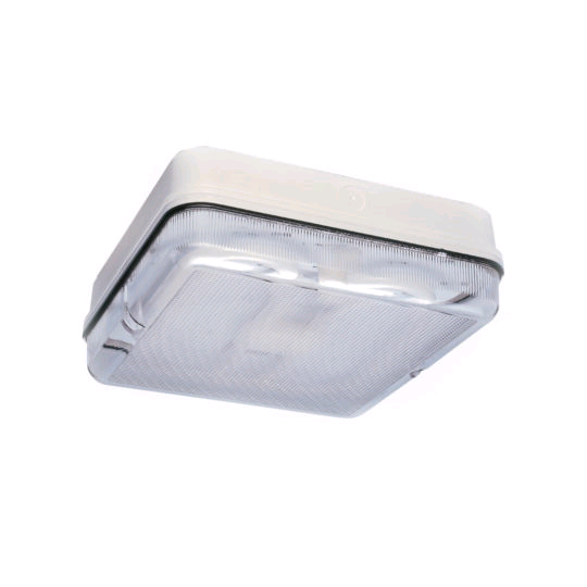 ASD 2D 28W Square White Prismatic IP65