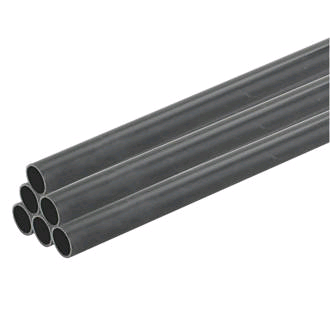 Falcon Heavy Gauge Conduit 25mm Black (per 3mtr Lth)