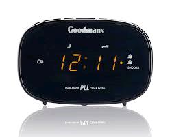 Goodmans FM Alarm Clock Radio