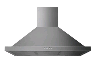 Statesman 90cm Chimney Cooker Hood Stainless Steel