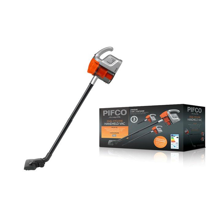 Pifco Handheld Vacuum 800w Silent motor Inc Extention Tubes