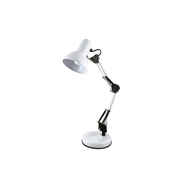 Lloytron Swing Poise Hobby Desk Lamp White 35w