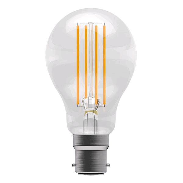 Bell 6w BC Pro LED Filament GLS Full Glass