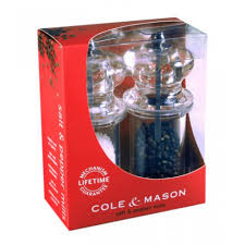 COLE AND MASON H575080 757 PM/SM CLEAR GIFT SET SAVE