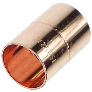 Copper Coupler 28mm Endfeed