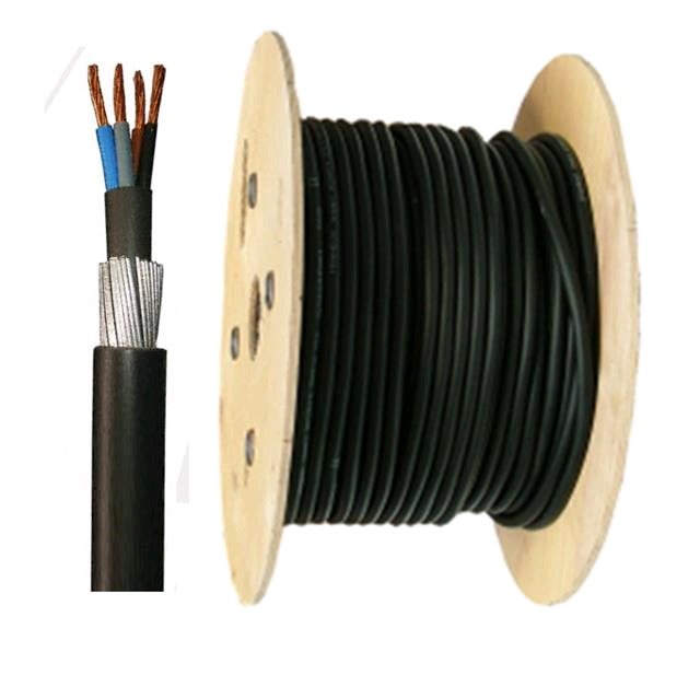 SWA Cable 6mm Armoured Cable 4core (per mtr)