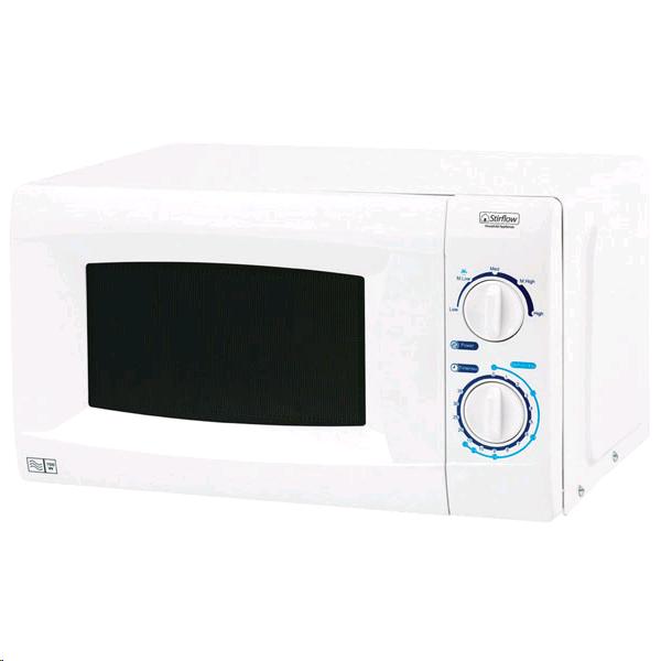 Stirflow Microwave 700W 20L White Touch Control