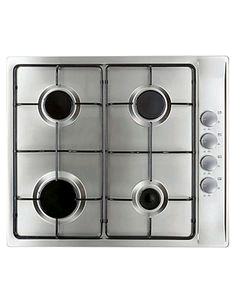Montpellier Gas Hob Stainless Steel 2 Year Warranty