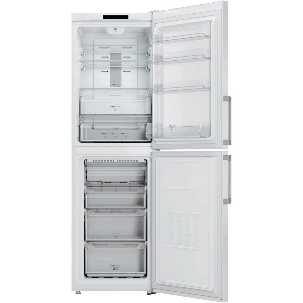 Hotpoint Frost Free Fridge Freezer White 204L/124trs H189 W60