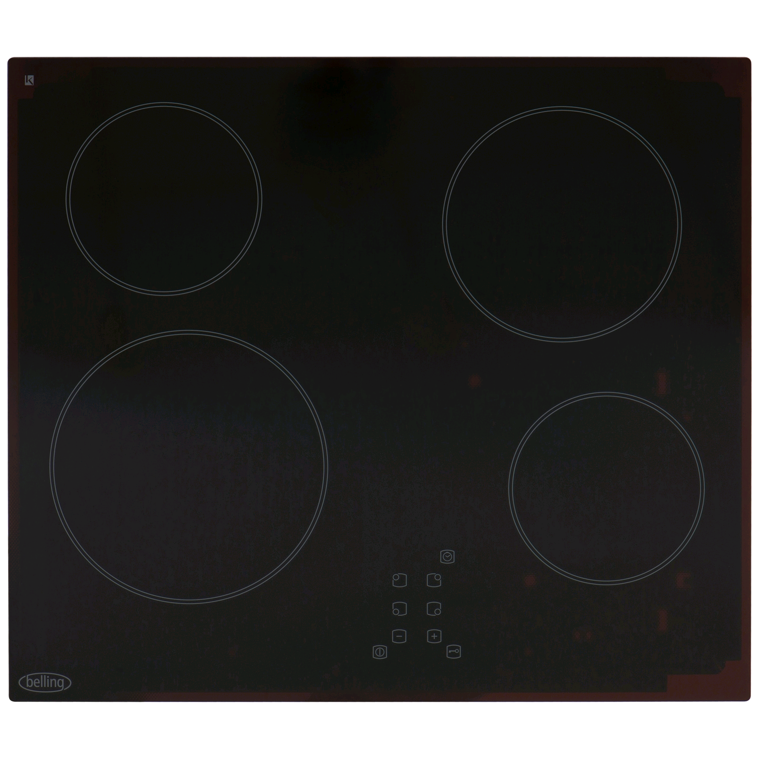 Belling Built in Ceramic Hob Touch Control 60cm