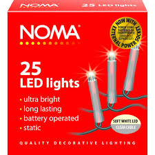 NOMA 1205CSW LED LIGHTS X25 CLEAR/SOFT WHITE