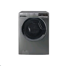 Hoover Washing Machine Dynamic Next One Touch 8kg 1500 Spin Graphite c/w Tinted Door
