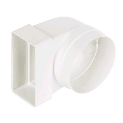 Manrose Channel Flat Elbow Connector 110 x 54mm