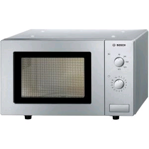 Bosch Microwave 17litre  800Watts Brushed Steel
