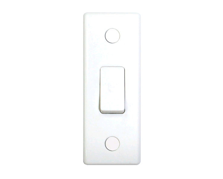 BG 1 Gang 2 Way 10AX Architrave Switch