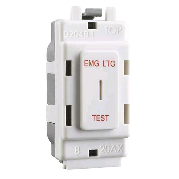 """BG Grid DP Ley Switch """"Emg Ltg Test"""""""